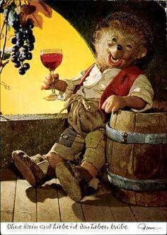 Ohne Wein und Liebe ist das Leben trübe
