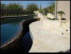 Ivory Paver #travertine #paver #ivory #contractor #homeimprovement #pool #poolcoping #decor #design #fixerupper #lifestyle #exteriordesign #marble #naturalstone Travertine Pavers, Pool Coping, Fixer Upper, Exterior Design, Natural Stones, Swimming Pools, Marble, Ivory, Lifestyle