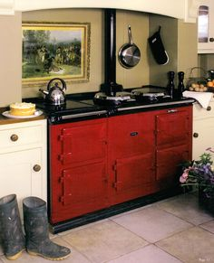 an Aga is definitely a part of my dream kitchen.