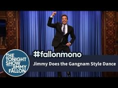Jimmy Does the Gangnam Style Dance