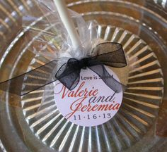 Wedding Favor Custom Tags for cake pops by SimplyDivineDesserts, $25.00