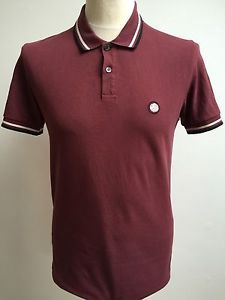 6544f0f8 PRETTY GREEN Mens GREEN Polo Shirt SPOTTED Size SMALL | eBay | Our ...