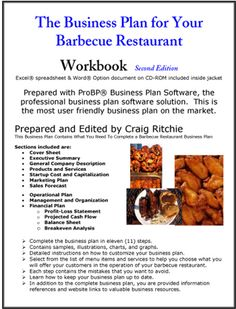 The Restaurant Business Plan Chefs  We Know ItS Painful We