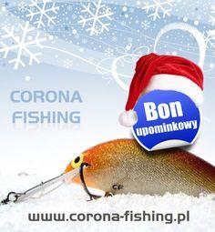 Jeśli nie wiesz jaki prezent wybrać pamiętaj, że bon upominkowy o wartości 100-1000 zł jest zawsze trafionym upominkiem. #wędkarstwo #prezenty #bon Fish, Outdoor Decor, Corona, Pisces