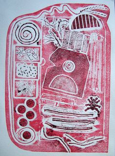 Project 11 Collagraph sampler – notes on materials Collagraph Printmaking, Eraser Stamp, Project 11, Ghost Images, Middle School Art, Print Artist, Teaching Art, Screen Printing, Art Projects
