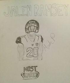 Jalen Ramsey, Jacksonville Jaguars, Super Bowl, My Drawings, Nfl, Supper Bowl, Nfl Football
