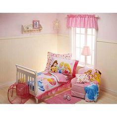 Discontinued - Disney - Princess' Dreams Come True Toddler Bedding Set, Pink Disney Princess Room, Dreams Come True, Toddler Bed, Kids Room, Walmart, Bedding, Pink, Furniture, Bedroom Ideas