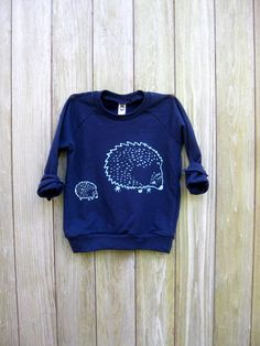 me and mama Hedgehog Sweatshirt Kids Sweater by nicandthenewfie, $28.00. Goes up to size 12 in kids.