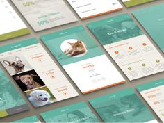 Adopt A Pet App - Additional Screens by Lauren Motl