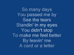 ▶ please, mr postman The carpenters lyrics - YouTube
