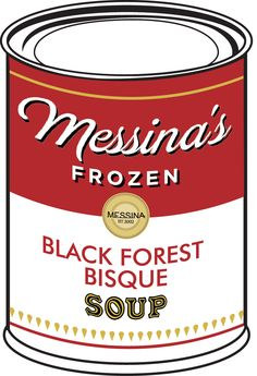 Black Forest Bisque - Chocolate-fondant gelato, cherry jam, kirsch cream, kirsch-soaked sponge. #RCCMelb