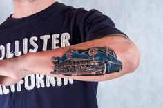 Old school chevy tattoo