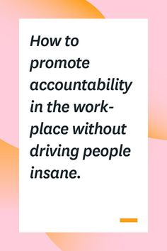 If you want your team to be productive, you need to promote accountability in the workplace. But some accountability strategies are more effective than others. Here are some ways to improve accountability among your employees without micromanaging or driv Leadership Development Training, Leadership Coaching, Leadership Quotes, Leader Quotes, Accountability Quotes, Servant Leadership, Leadership Activities, Leadership Qualities, Teamwork Quotes