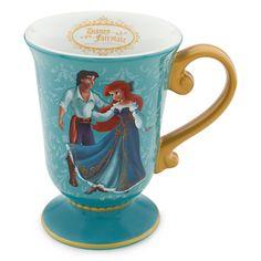 Disney Ariel And Eric   Disney Fairytale Designer Doll Collection Ariel and Prince Eric Mug ...