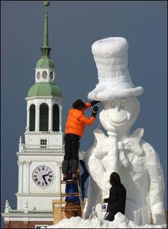 Geisel School of Medicine - Audrey & Theodor Geisel College Fun, College Life, Granite State, Dartmouth College, Snow Sculptures, Zen Art, Alma Mater, Covered Bridges, New Hampshire