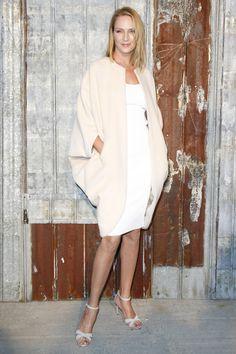 Uma Thurman at Givenchy Spring 2016 Ready-to-Wear NYFW