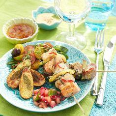 Potato Salad, Veggies, Potatoes, Favorite Recipes, Meat, Chicken, Ethnic Recipes, Food, Vegetable Recipes
