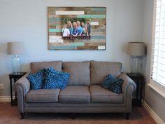 Barnwood Reclaimed Wood Decorative Art Panel  45 X 33 by ABWframes