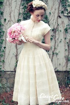 love the vintage look - but where would I wear it?