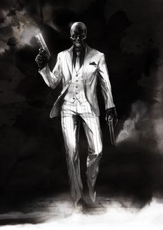 Black Mask by naratani.deviantart.com on @DeviantArt