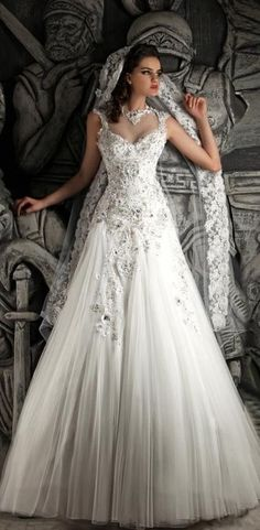 Hassan Mazeh Bridal 2014 Collection STUNNING!!!