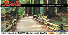 Skirollo & MARWE Rollerlkis Italia - The sports discipline of rollerski was born in North Europe at the end of the thirties as a training technique for cross-country skiers. It then developed into a sport of its own, with a growing number of national and international races. In recent years, thanks to the growing number of cycle-trails all around Italy, rollerski has aroused a growing interest as activity for leisure time, too.    - See www.skiroll.it