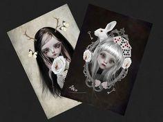 Category: Alice In Wonderland - Harriet's Imagination - Pop Surrealism   Lowbrow Artist Tanya Mayers