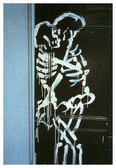 joereorda: Nan Goldin Skeletons coupling, NYC 1983 Cibachrome 24 x 20 inches 61 x 51 cm