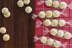 Lemon Crackle Cookies