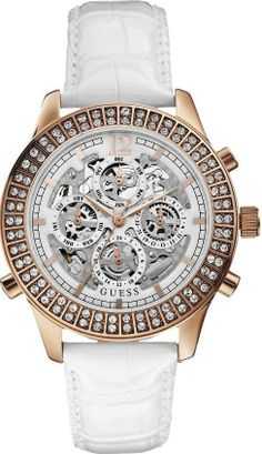 $125 GUESS Amused Limited Edition Automatic Chronograph Ladies Watch