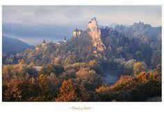 - Jewel of Orava - by UNexperienced on DeviantArt European Countries, Beautiful Buildings, France, Czech Republic, Monument Valley, Medieval, Castle, Clouds, Deviantart