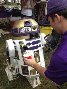 R2 Beer me 2! #StarWars #R2D2