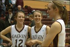 The Verkaik sisters made their dreams come true, they're all playing together on the Calvin College basketball team. #calvincollege #calvinknights