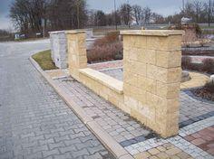 Ogrodzenia murowane - Stein Metal produkcja ogrodzenia nowoczesne i tarasy kompozytowe