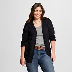 Women's Plus Size Cardigans - Mossimo Supply Co.™ : Target