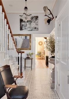 Grey Steel 4 by Dulux.....Interiors: a fun family home by the seaside - Telegraph
