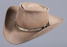 """Roy Rogers' Personal Nudie's Hat.  This Nudie's Rodeo Tailors hat is a great example of the Roy Rogers style. Complete with a silver hat band, it was signed by Roy when he gave it to his buddy: """"To Snuff / a keepsake / from RR Roy"""" Provenance: From the Estate of Tommy """"Snuff"""" Garrett. Brian Lebel's Mesa Auction - January 21, 2017 Sold $4,720"""