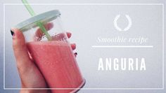 Smoothie all'anguria