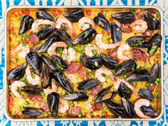 Grilled Sheet Pan Paella