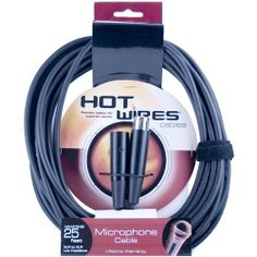 Hot Wires Microphone Cables - 25 Feet by On Stage. $11.04. Hot Wires Microphone CablesWhen it comes to live sound, recording, and quality, Hot Wires cables are a vital accessory. Hot Wires microphone cables are flexible, durable, and have an inner and outer PVC shielding for smooth sound transfer. No other gear can withstand being stepped on, twisted, pulled, and dragged, yet still perform every time as if it was the first time. If you're looking for a great quality ...