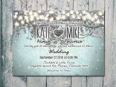 Resultado de imagen de night lights weddings invitation