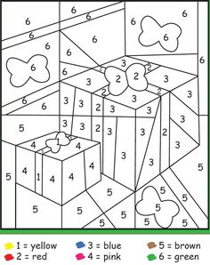 Christmas colour by number Spring Coloring Pages, Christmas Coloring Pages, Colouring Pages, Coloring Books, Christmas Color By Number, Christmas Colors, Kids Christmas, Christmas Crafts, Christmas Activities