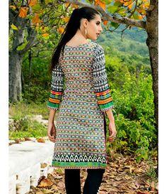 Tanzaib Kurti Shalwar Collection 2016 by Shaista Textiles D_107