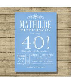 Invitaciones de cumpleaños personalizados de By Yolanda por DaWanda.com  Invitaciones De Cumpleaños Personalizadas 76123993836a8