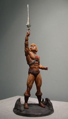 He-Man Action Figure.