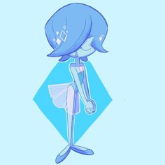 Steven Univese, Pearl Steven, Cartoon Network, Perla Steven Universe, Doodle Images, Lapis And Peridot, First Animation, Bubbline, Blue Pearl