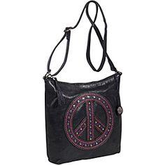 Peace Bag Crossbody Black