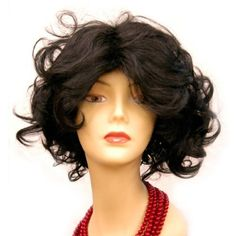 Curly Full Wig Jet Black Hair Wavy by Holawigs. $39.00. Also available in 3 colors. Shown is color 1 Jet Black. Please check the other colors in Holawigs. Curly full wig -Marilyn, measures approximately 10inches, made from premium quality synthetic fiber.