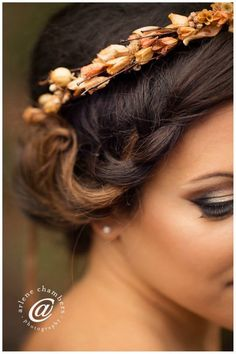 Hair and makeup by Timaree Flowers by Seasonal Bounty Etsy photo by Arlene Chambers