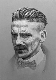 Peaky Blinders Drawing - Arthur Shelby by JPW Artist Peaky Blinders Poster, Peaky Blinders Wallpaper, Peaky Blinders Merchandise, Peeky Blinders, Peaky Blinder Haircut, Character Art, Character Design, Popular Tv Series, Bandana Hairstyles